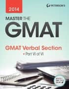 Master the GMAT: GMAT Verbal Section ebook by Peterson's