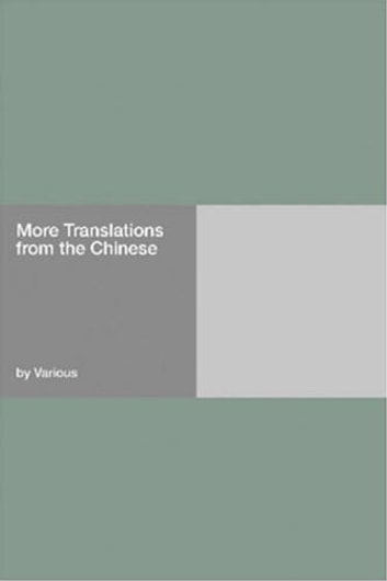 More Translations From The Chinese ebook by Various