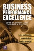 Business Performance Excellence ebook by Jeffrey T. Luftig,Steven M. Ouellette