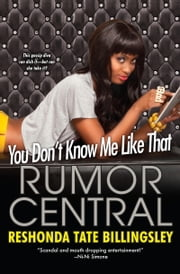 You Don't Know Me Like That ebook by Reshonda Tate Billingsley
