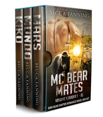 MC Bear Mates Vol 1 ebook by Becca Fanning