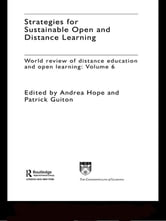 Strategies for Sustainable Open and Distance Learning - World Review of Distance Education and Open Learning: Volume 6 ebook by