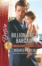 Billionaire's Bargain ebook by Maureen Child