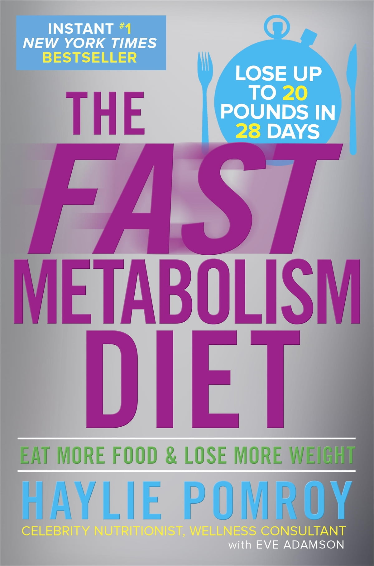 The Fast Metabolism Diet  Eat More Food And Lose More Weight Ebook By  Haylie Pomroy