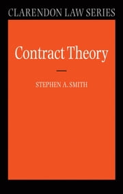 Contract Theory ebook by Prof Stephen A. Smith