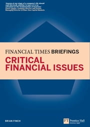 Critical Financial Issues: Financial Times Briefing - The low down on the top job ebook by Brian Finch
