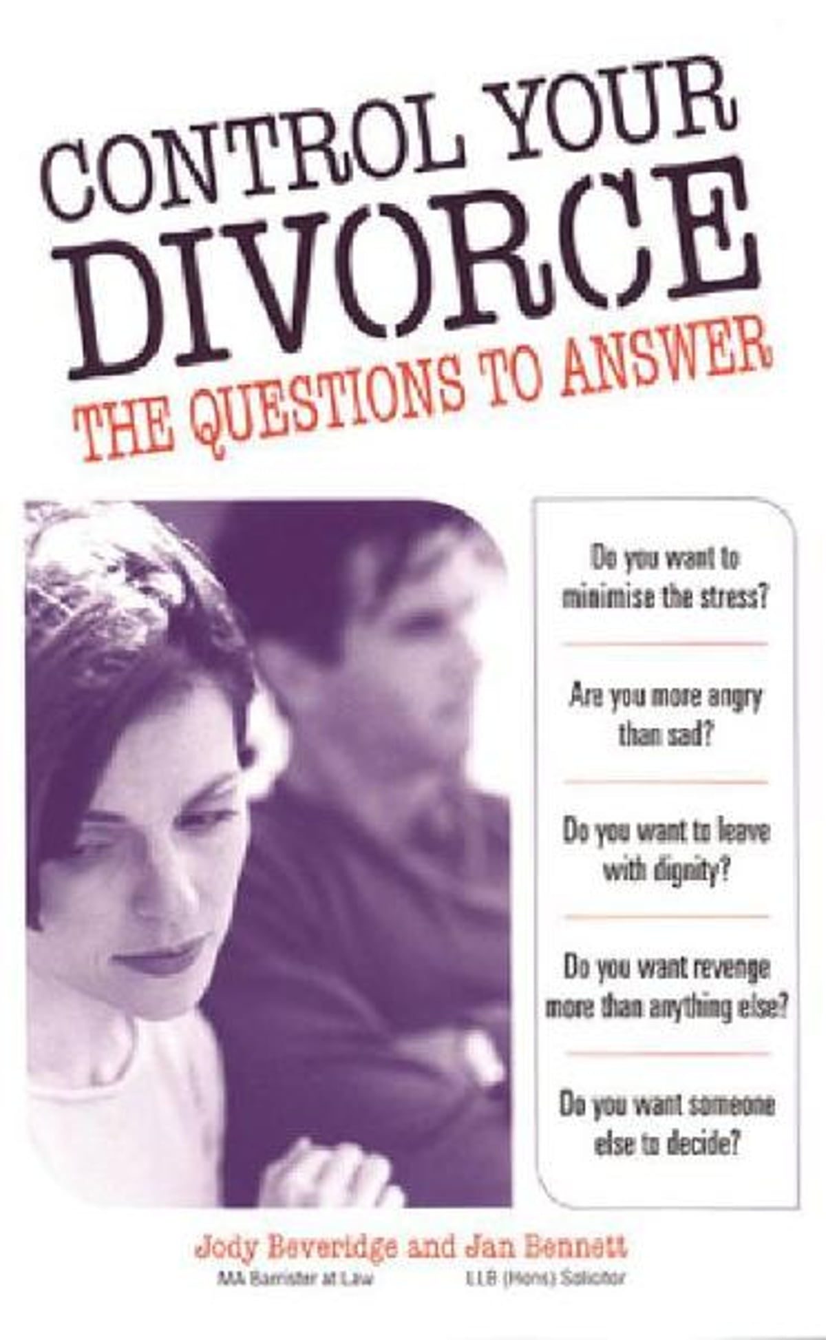 Divorce a canadian woman's guide