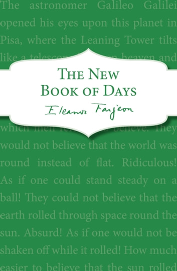 The New Book of Days ebook by Eleanor Farjeon