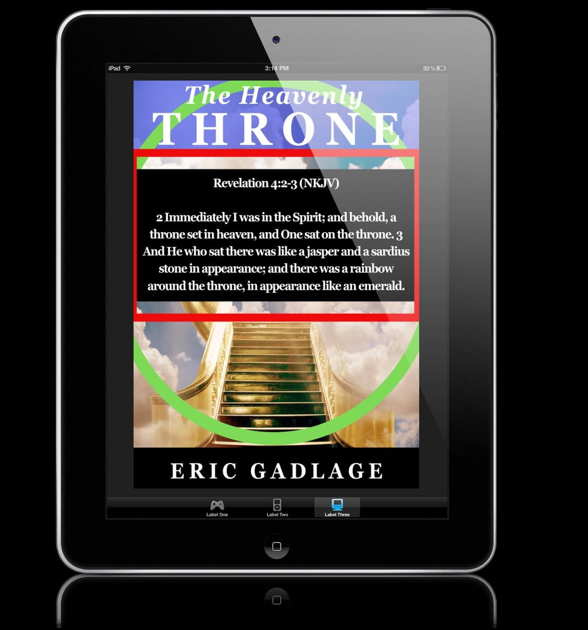 The Heavenly Throne eBook by Eric Gadlage - 9781386128410