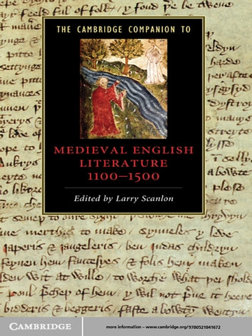The Cambridge Companion to Medieval English Literature 1100–1500 ebook by