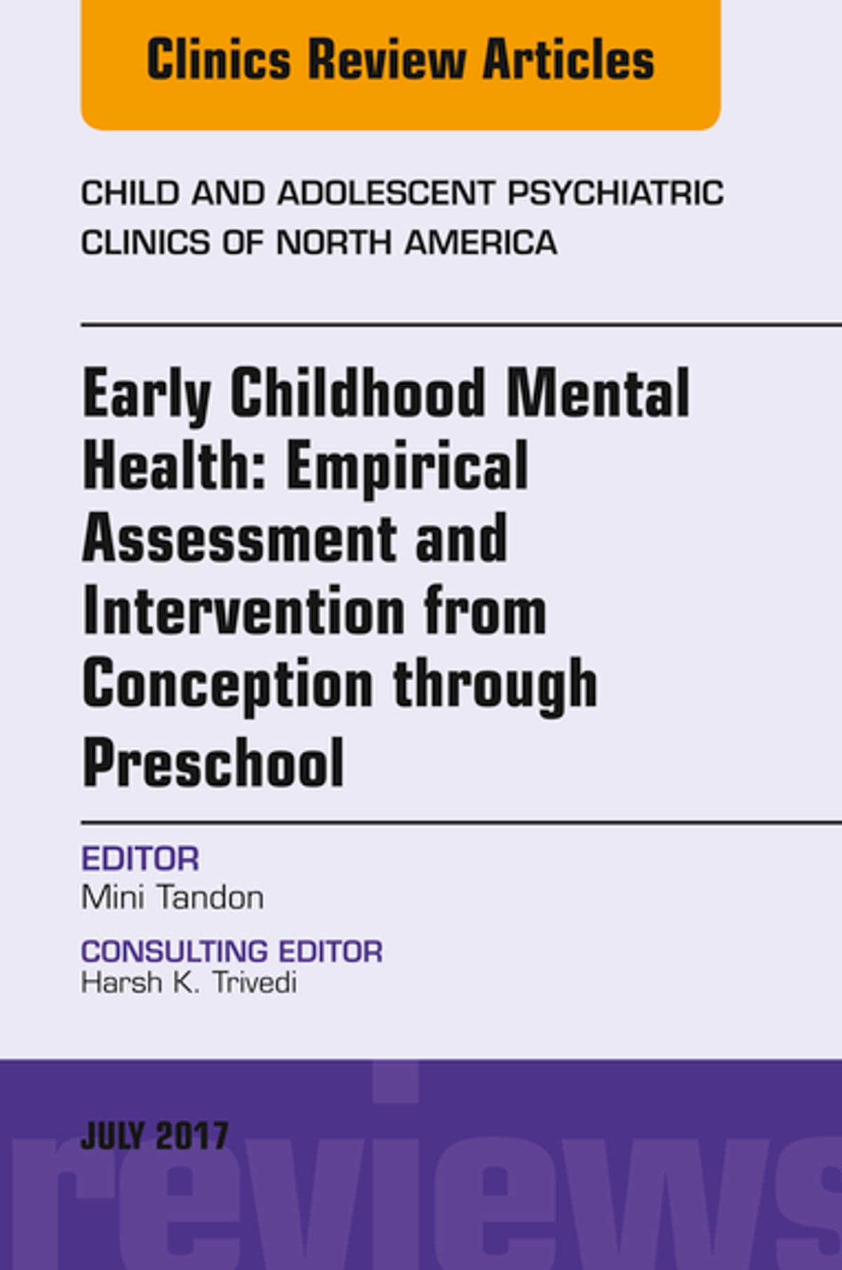 Early Childhood Mental Health Empirical Assessment And Intervention