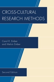 Cross-Cultural Research Methods ebook by Carol R. Ember