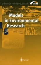 Models in Environmental Research ebook by Hans von Storch