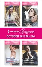 Harlequin Romance October 2018 Box Set - Cinderella's New York Christmas\Wedding the Greek Billionaire\A Diamond in the Snow\Christmas with the Duke 電子書籍 by Scarlet Wilson, Rebecca Winters, Kate Hardy,...