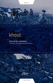 Khost Provincial Handbook: A Guide to the People and the Province ebook by Hanan, Sabawoon