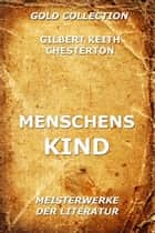 Menschenskind ebook by Gilbert Keith Chesterton