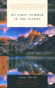 My First Summer in the Sierra ebook by John Muir, Mike Davis, Herbert W. Gleason