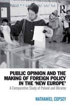 Public Opinion and the Making of Foreign Policy in the 'New Europe' ebook by Nathaniel Copsey