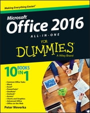 Office 2016 All-In-One For Dummies ebook by Peter Weverka
