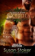 Justice for Corrie ebook by Susan Stoker