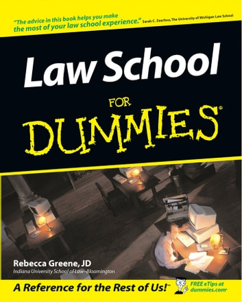 Law School For Dummies ebook by Rebecca Fae Greene