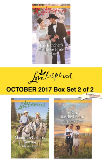 Harlequin Love Inspired October 2017 - Box Set 2 of 2 - An Anthology eBook by Jill Kemerer,Glynna Kaye,Stephanie Dees