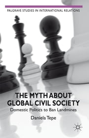 The Myth about Global Civil Society - Domestic Politics to Ban Landmines ebook by Daniela Tepe
