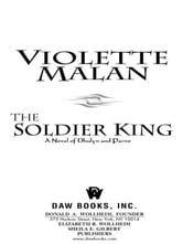 The Soldier King - A Novel of Dhulyn and Parno ebook by Violette Malan