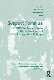 Suspect Families - DNA Analysis, Family Reunification and Immigration Policies ebook by Torsten Heinemann,Ilpo Helén,Thomas Lemke,Ursula Naue