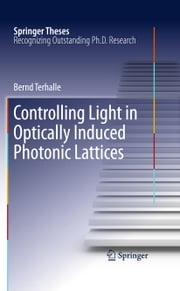 Controlling Light in Optically Induced Photonic Lattices ebook by Bernd Terhalle