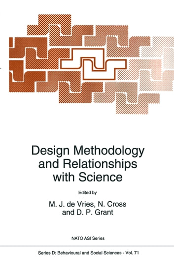 Design Methodology and Relationships with Science ebook by