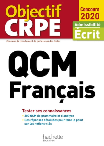 QCM CRPE : Français 2020 ebook by Monique Bazin