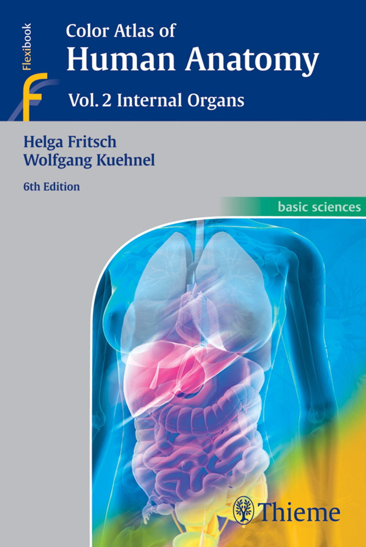 Color Atlas Of Human Anatomy Vol 2 Internal Organs Ebook By Helga
