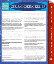CPR & Choking Relief - Speedy Study Guides ebook by Speedy Publishing