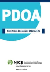 Periodontal Disease and Older Adults ebook by National Initiative for the Care of the Elderly