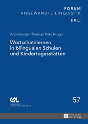 Wortschatzlernen in bilingualen Schulen und Kindertagesstätten ebook by Kobo.Web.Store.Products.Fields.ContributorFieldViewModel