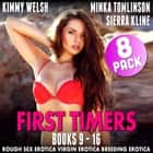 First Timers 8-Pack : Books 9 - 16 (Rough Sex Erotica Virgin Erotica Breeding Erotica Collection) audiobook by Kimmy Welsh