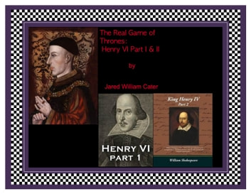 The Real Game of Thrones: - Henry IV, parts one and two ebook by Jared William Carter (jw)