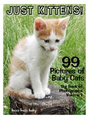 99 Pictures: Just Kitten Photos! Big Book of Baby Cat Photographs Vol. 1 ebook by Big Book of Photos