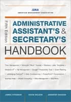 Administrative Assistant's and Secretary's Handbook ebook by James Stroman, Kevin Wilson, Jennifer Wauson