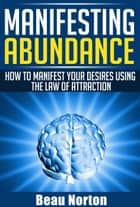 Manifesting Abundance: How to Manifest Your Desires Using the Law of Attraction ebook by Beau Norton