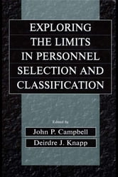 Exploring the Limits in Personnel Selection and Classification ebook by