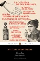 Comedias (Obra completa Shakespeare 1) ebook by William Shakespeare