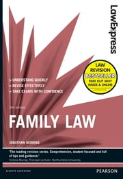 Law Express: Family Law (Revision Guide) ebook by Jonathan Herring