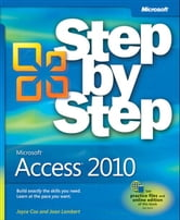 Microsoft® Access® 2010 Step by Step ebook by Joan Lambert,Joyce Cox