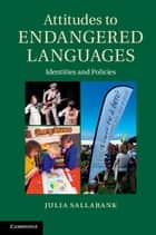Attitudes to Endangered Languages - Identities and Policies ebook by Julia Sallabank