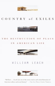 Country of Exiles ebook by William R. Leach