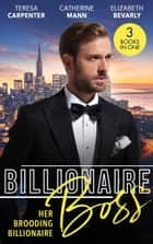 Billionaire Boss: Her Brooding Billionaire: His Unforgettable Fiancée / Billionaire's Jet Set Babies / The Pregnancy Affair ebook by Teresa Carpenter, Catherine Mann, Elizabeth Bevarly