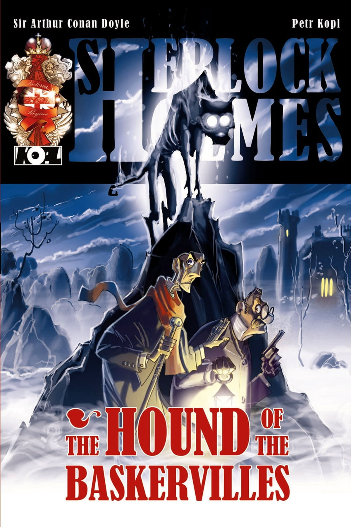 The Hound of the Baskervilles - A Sherlock Holmes Graphic Novel ebook by  Petr Kopl - Rakuten Kobo