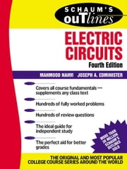 Schaum's Outline of Electric Circuts ebook by Nahvi, Mahmood